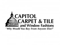 Capitol Carpet Tile And Window Fashions Business Logo